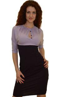 1103 Платье Светло-сиреневый
