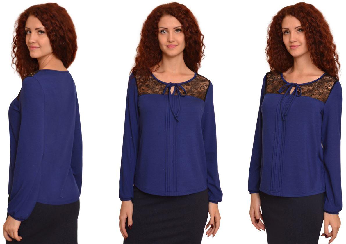 2087 Блуза Синий